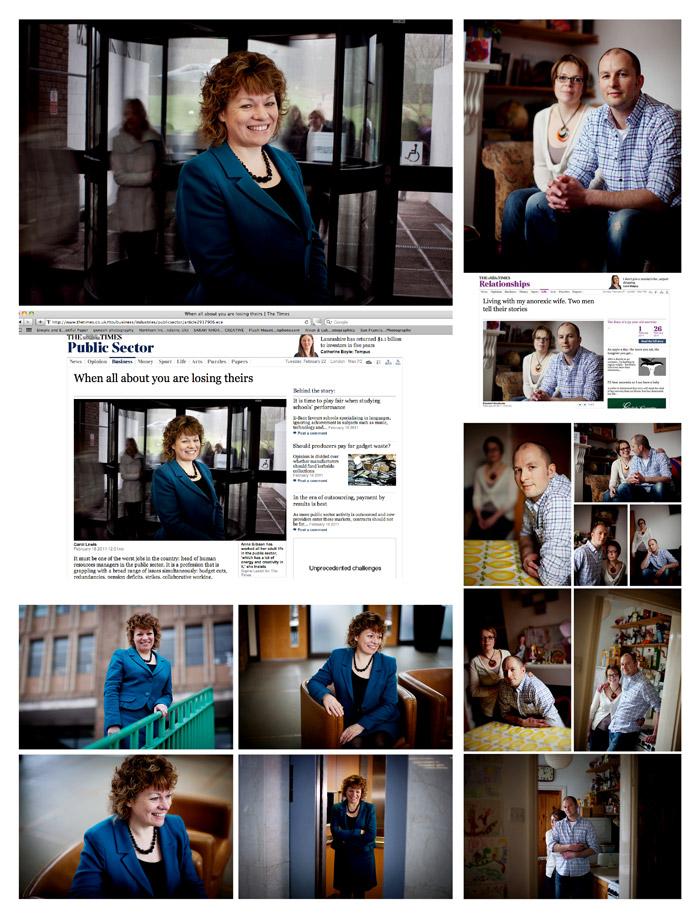 Recent Norwich Portrait for The Times Newspaper - Norwich Norfolk Freelance Portrait Photographer