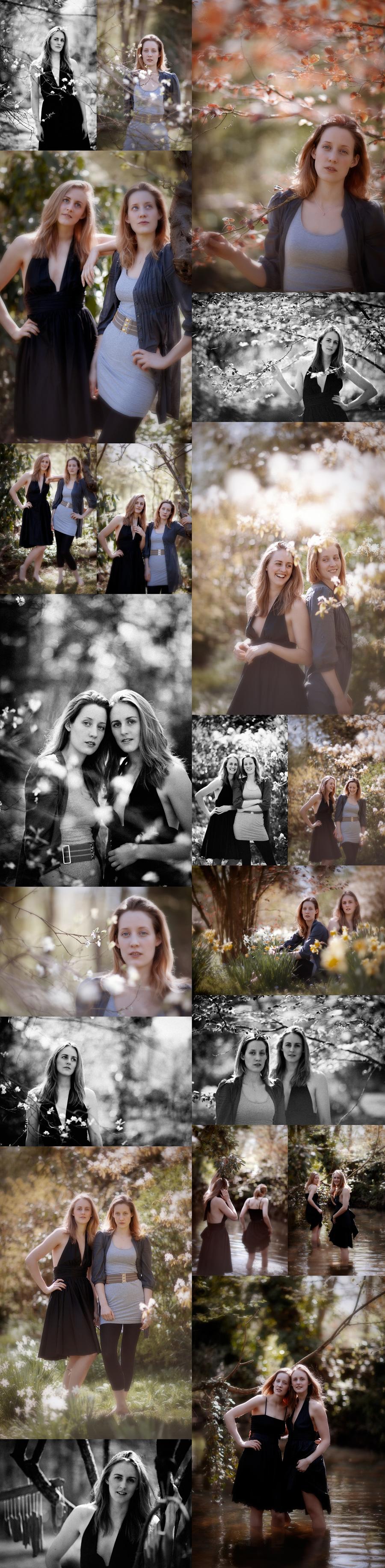 April & Polly - Norwich Portrait Photography - Natural light portraits Norfolk - Freelance Portrait Photographer - Sophie Laslett